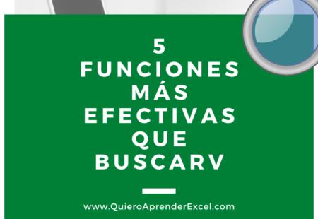 5 Funciones más efectivas que buscarV – descargable – curso gratis